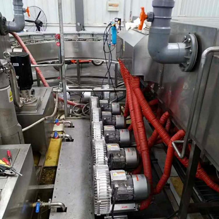 RB-71D-4漩涡风机,高压漩涡风机 高压旋涡气泵 旋涡式气泵示例图8
